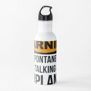 Aviation Water Bottle- By Silverorlead