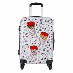 Clouds Collection Suitcase bag