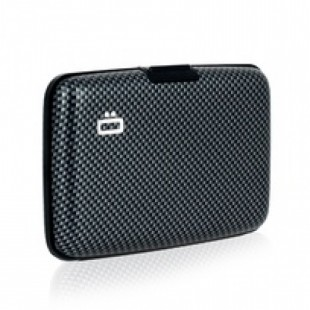 Smart Aluminium Wallet (Carbon Fiber Edition)