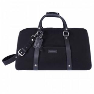 Emirates Wool And Oak Duffle Suitcase Bag