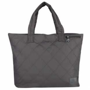 Emirates Quilted Travel Tote Grey Bag