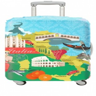 "LOQI Urban Large Luggage Cover - ITALY (27"" - 30"")"