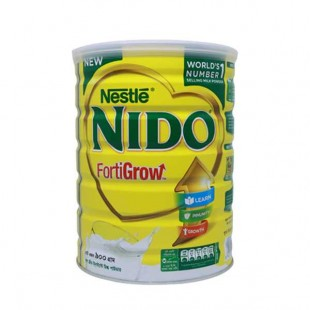 Nestle NIDO Fortigrow Full Cream Milk Powder TIN - 900 gm
