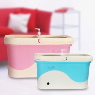 Auto Spin Mop Bucket Small
