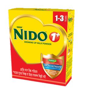 Nestlé Nido Growing Up 1+ Protection Milk Bib-  350 gm