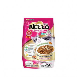 Foodinnova Cat Food Nekko Love Mix- Salmon Kitten - 400 gm