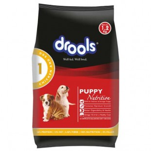 Drools Puppy Dog Food Chicken And Egg  - 1.2 kg