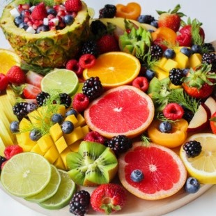 ফলের সালাদ উপাদান (Fruit salad)