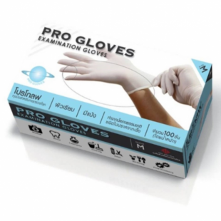 Pro gloves M (100 pieces box) Thailand