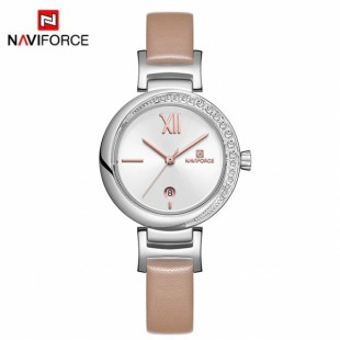 NAVIFORCE Luxury Rose Gold Women Watch