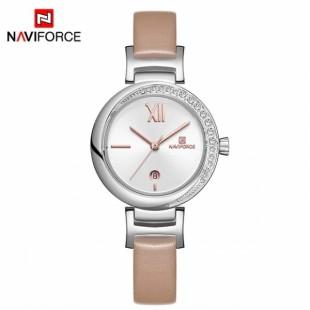 NAVIFORCE Luxury Rose Gold Women Watch