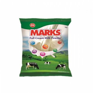 Marks full cream milk powder 1kg poly